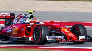 Kimi Räikkönen Austinissa