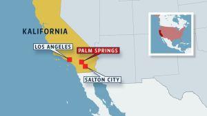 Kalifornian kartta