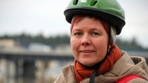 Vihreiden kansanedustaja Krista Mikkonen.