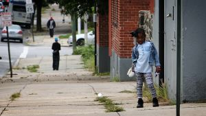 Baltimoressa mustat ovat enemmistössä. Kaupunginosat ovat eriytyneet.