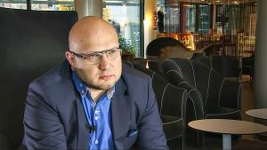 Nuorisosäätiön hallituksen puheenjohtaja Perttu Nousiainen.