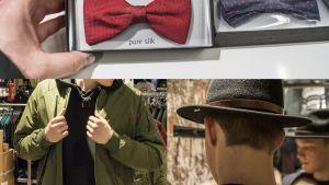 Miesten pukeutumisen trendit