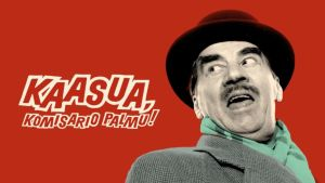 Kaasua, komisario Palmu! -videon kansikuva.