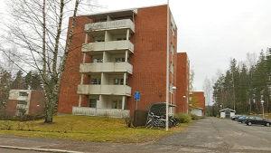 Opiskelija-asuntoja Lappeenrannan Skinnarilassa