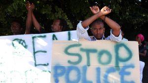 Mielenosoitus Ponte Chiassossa
