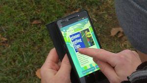 HeadAI:n virtuaalivalmentaja toimii älypuhelimessa.