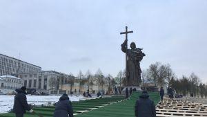 Vladimir Suuren patsas Moskovassa