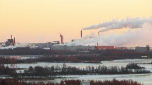 Stora Enson Kemin Veitsiluodon tehdas.