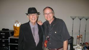 Leonard Cohen ja Jarkko Airatsalo