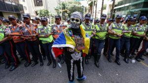 Mielenosoitus Caracasissa