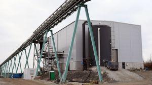 Terrafamen kaivoksen uusi keskusvedenpuhdistamo.