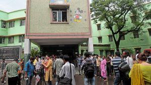 Lastensairaala Kolkatassa.