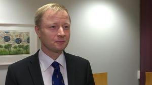 Päijät-Hämeen hyvinvointiyhtymän toimitusjohtaja Timo Louna