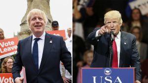 Boris Johnson ja Donald Trump