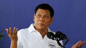 Filippiinien kovaotteinen presidentti Rodrigo Duterte sanoo saaneensa tukea Yhdysvaltain presidentiksi nousevalta Donald Trumpilta