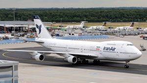 Iran Airin kone Münchenissä vuonna 2008