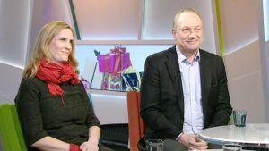Nina Frosterus ja Juhani Pekkala