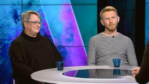 Maarit Kohonen ja Pekka Peura.