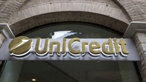 Unicreditin pankki Italiassa