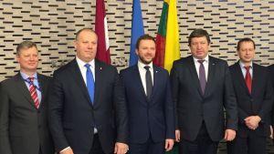 Baltian puolustusministerit tapasivat Tallinnassa.