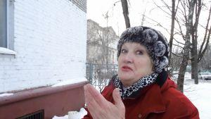 Olga Tortšenskaja jaksaa taistella talonsa hyväksi.