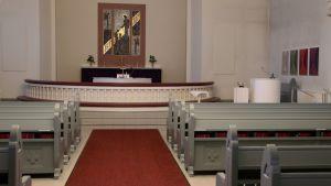 Joutsenon kirkon alttaritaulu