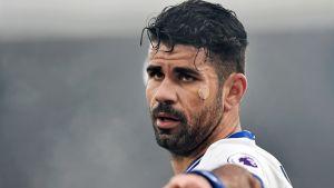 Diego Costa lähikuvassa.