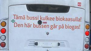 biokaasubussi