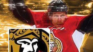Kuvakaappaus Ottawa Senatorsin twittertililtä