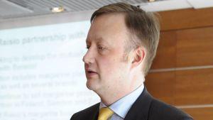 Raision toimitusjohtaja Matti Rihko.