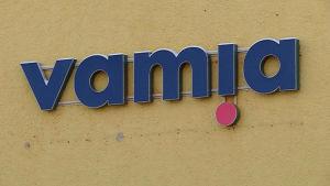 Vamian logo.