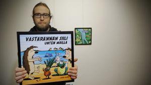Harri Filpan mukaan sarjakuvan tarinaa voi lukea ja katsella hyvin myös musiikin kanssa.