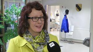 Kunnanjohtaja Kristiina Järvenpää.