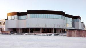 Anjalankosken entinen kaupungintalo Kouvolassa.