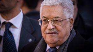 Palestiinalaisten presidentti Mahmoud Abbas.
