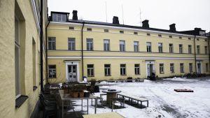 Lapinlahden sairaala ulkoa