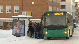 Joukkoliikenne uudistuu Rovaniemellä 2018