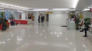 Päijät-Hämeen keskussairaalan aula