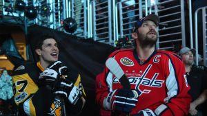 Sidney Crosby ja Aleksander Ovetshkin seuraavat All Star -tapahtumaa vierekkäin 2017.