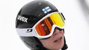 Julia Kykkänen Sotshin olympialaisissa.