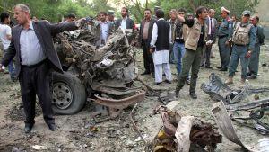 Itsemurhapommitaja iski korkeimman oikeuden edessä kesäkuussa 2013