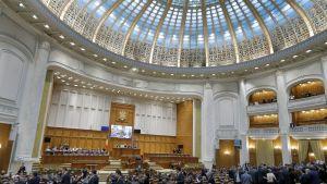 Romanian parlamentin istunto tiistaina 7.2.2017