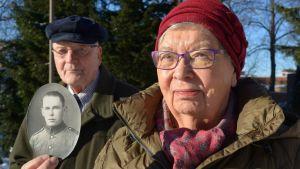 sotaorvot Mirja-Liisa Mutikainen ja Tauno Strengell
