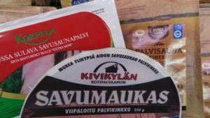 Savukinkku saunapalvi Korpela Kivikylä Makuliha palvisaunakinkku savusaunapalvi palvikinkku