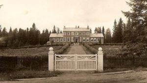 Kainuun karjanhoitokoulu Seppälässä vuonna 1934.