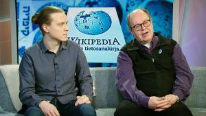 Teemu Perhiö ja Heikki Kastemaa.