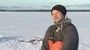 Kalastaja Pekka Rintamaa