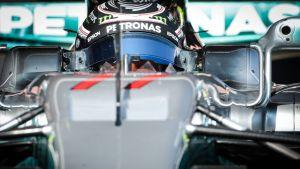 Valtteri Bottas, Mercedes, Barcelonan testipäivä 27.2. 2017