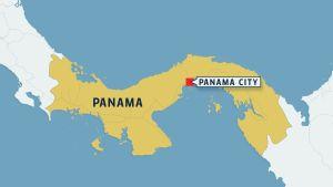 Panaman kartta.