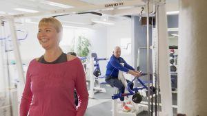 Pian Energymiksi vaihtuvan salin senior trainer Päivi Hytinkoski on tehnyt ohjelman Pekka Parpalalle.